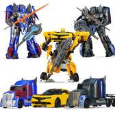 兒童變形玩具金剛黃蜂擎天之柱機器人模型男孩變形汽車手辦 變形金剛 大黃蜂 擎天柱 機器人模型