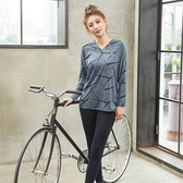 【8:AT 】長袖上衣 M-XL(深藍)(未滿3件恕無法出貨,退貨需整筆退)