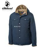 丹大戶外用品 荒野【Wildland】男鵝絨防潑水極暖外套 型號 0A62998-99 深霧灰