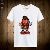 Qoqozozo圓領日系斧王T恤大碼短袖 寬松透氣吸汗 個性新潮全印花