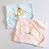 純棉嬰兒抱被新生兒包被春秋寶寶用品的小被子春夏季薄款包巾抱毯 歐韓