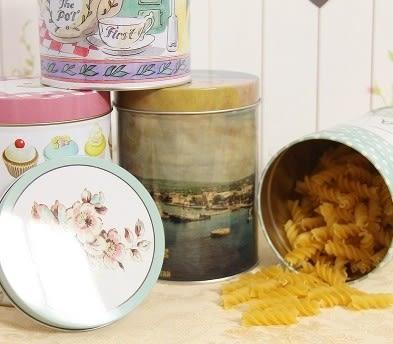 [協貿國際]圓柱型茶葉罐密封罐 糖果盒收納 (兩個一組)價