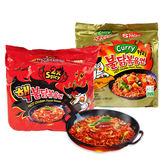 韓國 SAMYANG 三養 激辛火辣雞肉風味鐵板炒麵(2倍辣) 140g╳5入/袋 進口/團購/泡麵/沖泡◆86小舖◆