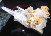 天然白水晶簇*超白亮透~約740公克(完整度高)防小人必備!超值特惠中*免運費
