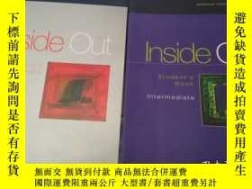 二手書博民逛書店Inside罕見Out Student`s Book( Adva