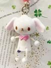 【震撼精品百貨】Sugarbunnies 蜜糖邦尼~三麗鷗蜜糖邦尼立體造型吊飾/鑰匙圈-白#36021