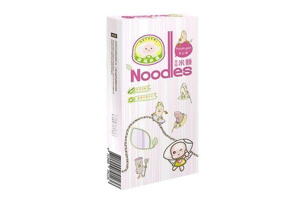 幸福米寶 幸福米麵/副食品/寶寶麵條 (紫山藥)