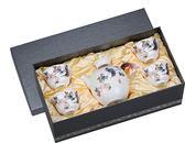 宜龍 瓷器茶器 春意盎然(大壺+4大杯)5入禮盒