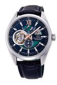 【分期0利率】 東方之星 Orient Star  簍空機械錶 能量儲存指示針 原廠公司貨 RE-DK0002L 綠藍