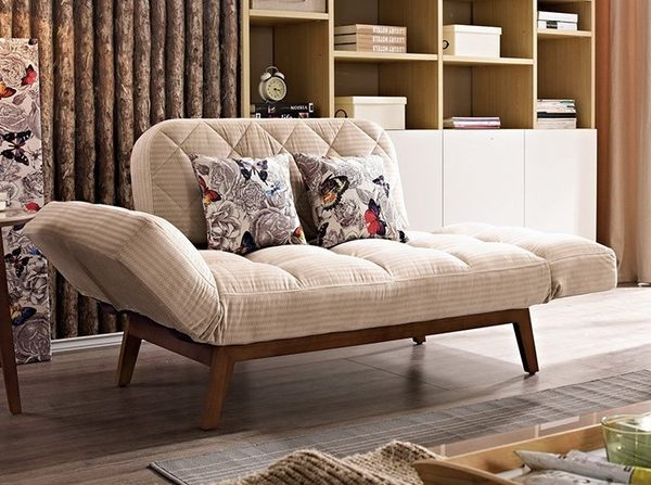 8號店鋪 森寶藝品傢俱 a-01 品味生活 沙發系列725-2 肯特沙發床(可拆洗)(附抱枕2個)