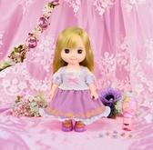 芮咪&紗奈 Disney 魔髮奇緣 迪士尼系列-樂佩娃娃 公主神奇髮飾組 TOYeGO 玩具e哥
