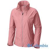 Columbia 女 防潑風衣-粉紅色 UWK01270PK【GO WILD】