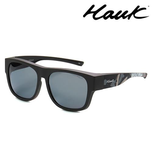HAWK偏光太陽套鏡(眼鏡族專用)HK1603UK-LG
