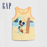 Gap 男幼童 Gap x Disney迪士尼系列圓領無袖上衣 577610-哈瓦那黃