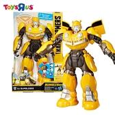 玩具反斗城 獨家 HASBRO 變形金剛電影6 大黃蜂英雄DJ玩具