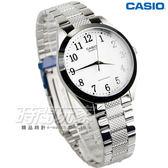 CASIO卡西歐 MTP-1274D-7B 數字時標 自信魅力時尚指針紳士腕錶 男錶 白x銀 MTP-1274D-7BDF