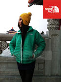 The North Face Primaloft 化纖 防風保暖外套 女~綠色 (OAMVATGPI)