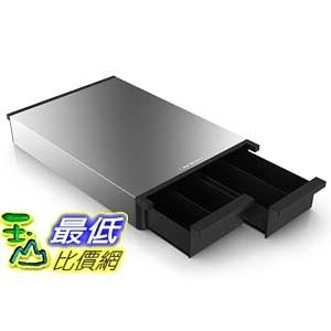 [104美國直購] 鐵殼 Mind Reader METTRY-BLK Ledge Coffee Pod Storage Drawer, Metal