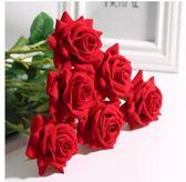 假花單支玫瑰花束仿真插花婚慶家居客廳