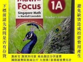 二手書博民逛書店Math罕見in Focus:Singapore Math by Marshall Cavendish (1A)奇