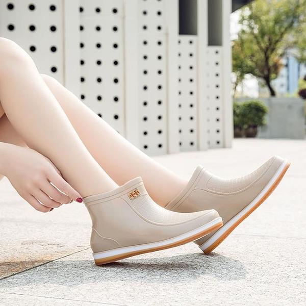 秋冬季雨鞋女時尚潮流雨靴
