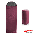 【Litume】C051保暖棉睡袋 330g『暗紅』C051 露營.登山.戶外.度假打工.背包客.自助旅行.居家