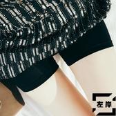【3條裝】無痕白色打底防走光安全褲女緊身不卷邊冰絲保險短褲【左岸男裝】