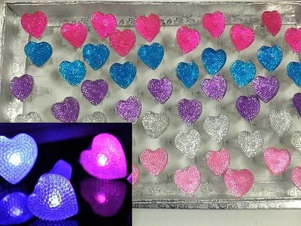 仿碎鑽滿天星發光手指燈(戒指燈) /個~~派對用品