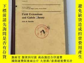 二手書博民逛書店Field罕見Extensions amd Galois The