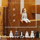 全套6款【日本正版】不可思議動物 坐姿貓...