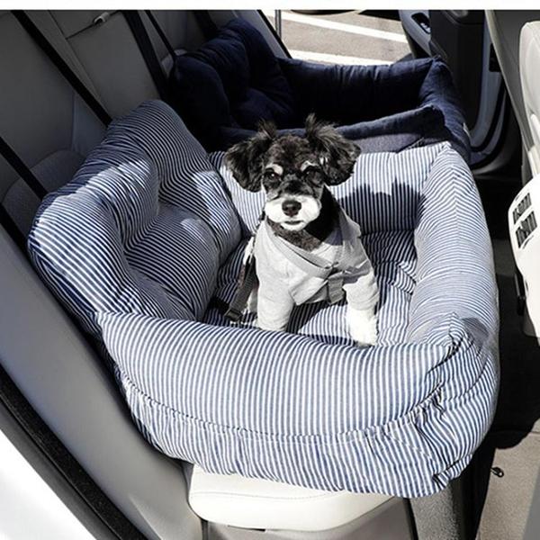 汽車狗狗專用坐墊安全寵物車載安全座椅一窩兩用狗窩車載墊窩籠 小山好物