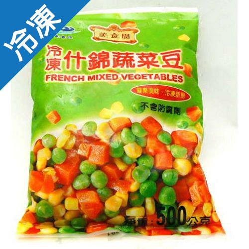 明宜什錦蔬菜豆500g【愛買冷凍】
