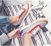 時尚休閒低筒鞋男士韓版百搭帆布鞋學生板鞋潮男鞋子 俏女孩