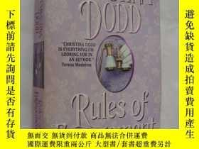 二手書博民逛書店Rules罕見of Engagement 《訂婚的規則》言情小說