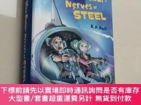 二手書博民逛書店Mike罕見Stellar:Nerves of Steel 邁克·斯特拉爾:鋼鐵之神經 英文精裝Y439265
