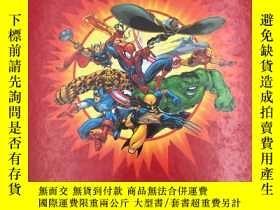 二手書博民逛書店Marvel:罕見The Characters and Thei