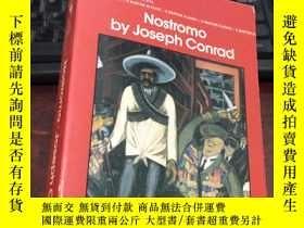 二手書博民逛書店Nostromo罕見by Joseph Conrad:A Tale of the Seaboard (32開)