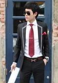 西裝套裝含西裝外套+褲子-設計經典款職業成套男西服2色6x24【巴黎精品】