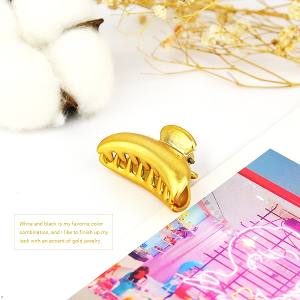 金色夾子 1入【櫻桃飾品】【30250】