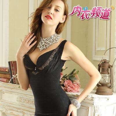 內衣頻道♥6672 台灣製  緹花鎖邊無痕 塑腰防駝 背心式束衣 - S/M/L/XL/Q