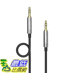 [106美國直購] Anker 3.5mm Auxiliary Audio Cable 4ft 1.2m AUX Cable for Headphones Car Stereos音頻線