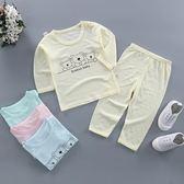 嬰兒衣服夏裝薄款男女寶寶竹節棉套裝夏季純棉新生兒童睡衣空調服