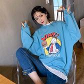 韓版T恤女棉質寬松大碼長袖衛衣女GT270-A依佳衣