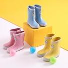 兒童雨鞋男童可愛雨靴防滑學生專用水鞋女童四季通用
