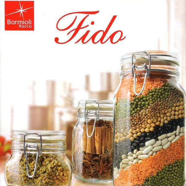 義大利製【Bormioli】FIDO玻璃密封罐墊圈6入 / P89075