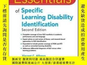 二手書博民逛書店Essentials罕見of Specific Learning Disability Identificatio