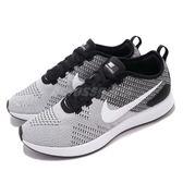 【海外限定】Nike 慢跑鞋 Wmns Dualtone Racer II 黑 白 透氣網料 輕量透氣 運動鞋 男鞋【PUMP306】 AO9379-006