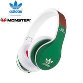 美國 Monster x adidas 聯名限量版耳罩式耳機(紅綠)