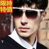 太陽眼鏡-偏光大框復古個性抗UV男女墨鏡-2色67f21[巴黎精品]