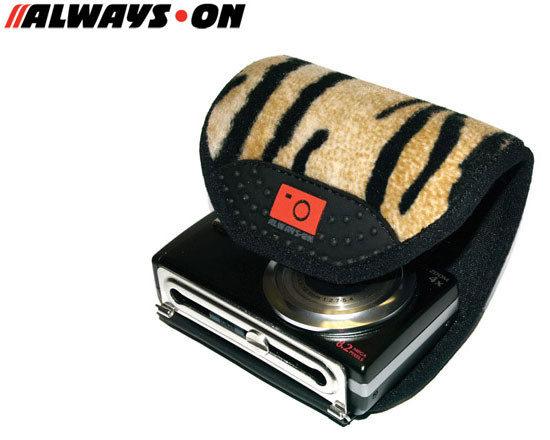 ALWAYS-ON 歐威士王 WRAP-UP 老虎紋 相機護套 ★出清特價★ (立福公司貨) 相機套 相機包